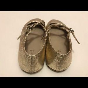 Zara Shoes Gold